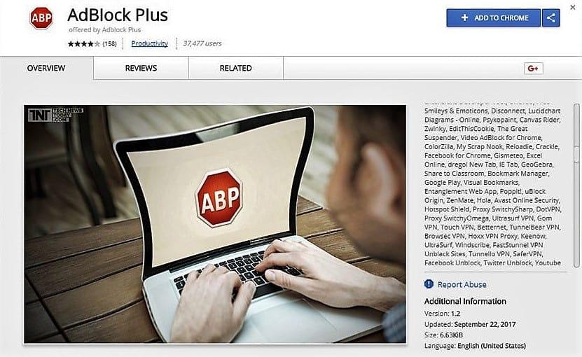 Adblock piraté des milliers d'internaute concerné