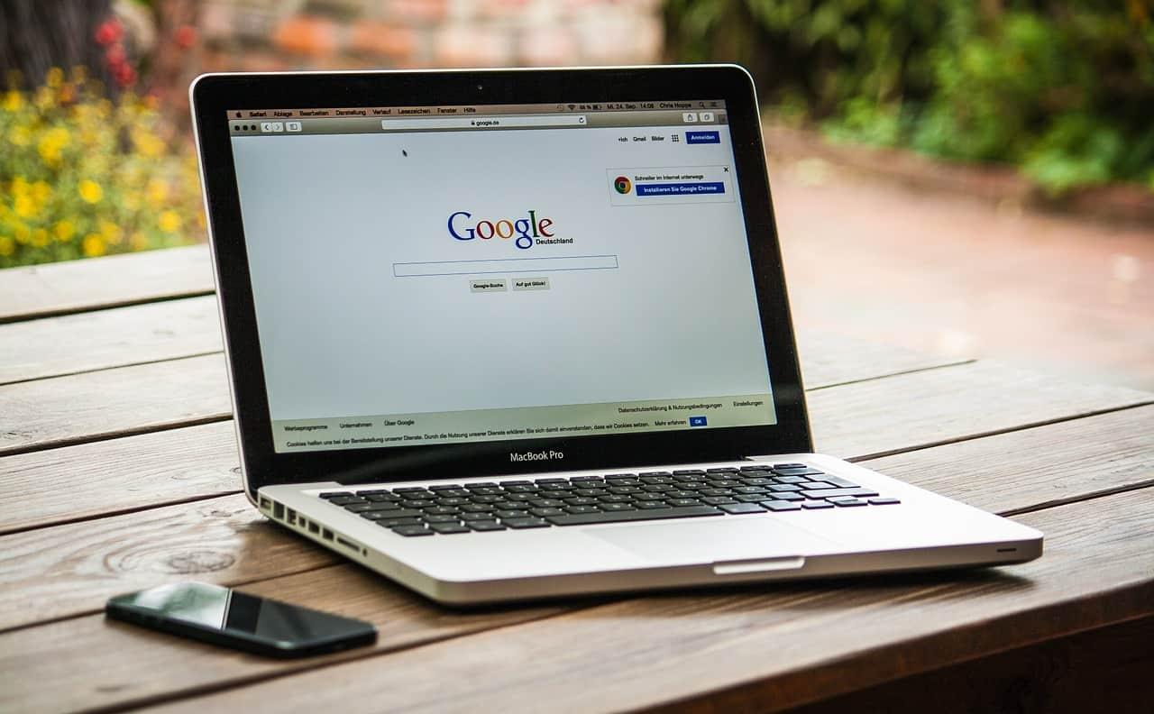 Mise à jour la semaine derniere de l'algorithme de google